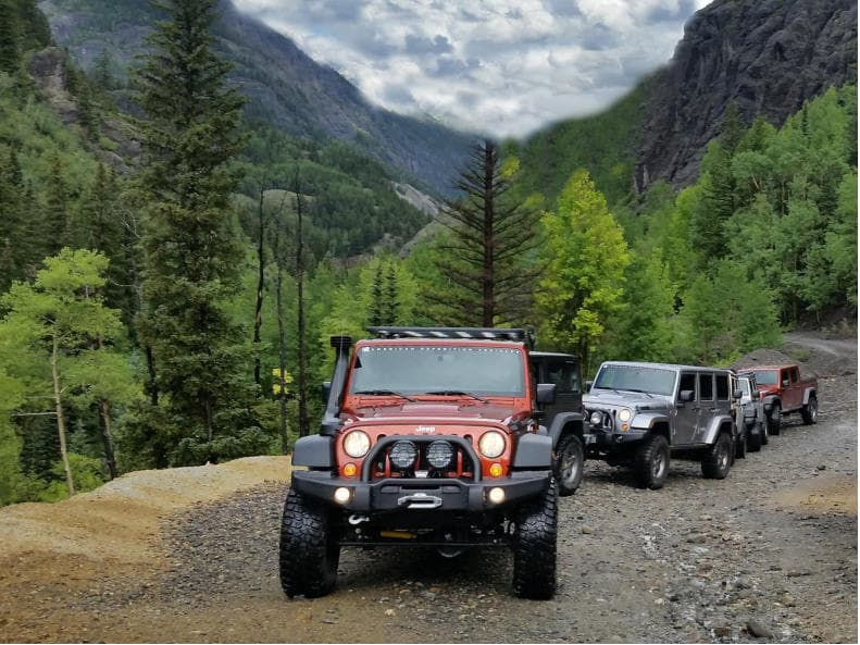 Ouray / Telluride Comapny Trip | Barney Brothers Off Road image #30